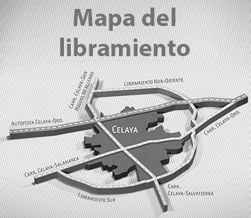 Mapa del libramiento